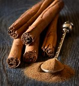 Постер, плакат: Cinnamon Sticks
