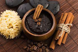 foto of scrubs  - Homemade face and body organic all natural coffee scrub  - JPG