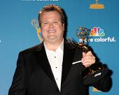 LOS ANGELES - AUG 29:  Eric Stonestreet in the Press Room at the 2010 Emmy Awards at Nokia Theater