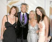 LOS ANGELES - FEB 4:  Stephen J. Cannell. & family at the Writers Guild Awards  at the Hollywood Palladium on February 4, 2006 in Los Angeles, CA