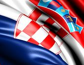 picture of former yugoslavia  - Flag of Croatia - JPG