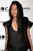 LOS ANGELES - NOV 13:  Vera Wang arrives at the MOCA's Annual Gala