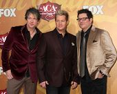 LOS ANGELES - DEC 6:  Rascal Flatts (Joe Don Rooney, Gary LeVox, Jay DeMarcus) arrives at the 2010 American Country Awards at MGM Grand Garden Arena on December 6, 2010 in Las Vegas, NV.