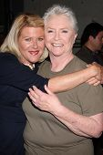 LOS ANGELES - FEB 7:  Alley Mills, Susan Flannery at the 6000th Show Celebration at The Bold & The B