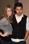 LOS ANGELES - FEB 7:  Kim Matula, Scott Clifton at the 6000th Show Celebration at The Bold & The Beautiful at CBS Television City on February 7, 2011 in Los Angeles, CA