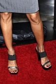 LOS ANGELES - FEB 10:  Mari Morrow arrives at the