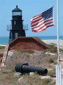 Fort Jefferson, American Flag