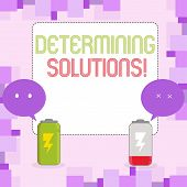 Conceptual Hand Writing Showing Determining Solutions. Business Photo Text Identifying Business Need poster