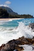 Lumahai Beach en Kauai