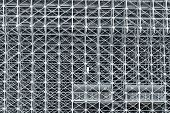 Engineering Structures For Metal Structures Of The Stadium Stands, Construction Metal Structures Con poster
