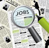 Suche nach einem job