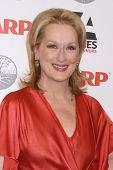 LOS ANGELES - FEB 6:  Meryl Streep arrives at the AARP's 11th Annual Movies For Gownups Awards at Be