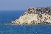 On the coast of Mediterranean, Cyprus
