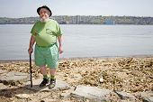 Leprechaun At The Shore