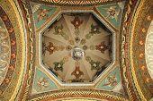 Church interior in Echmiadzin, Armenia