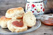 Biscuits And Apple Butter