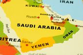 Saudi Arabia On Map