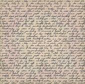 Handwritten Letter