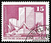 Postage stamp GDR 1973 Fisherman's Island, Berlin