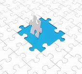 Missing Puzzle Pieces Shows Gaps