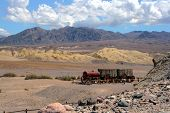 picture of landmines  - Landscape of an ancient mine field in the Utah - JPG