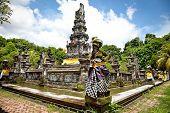Pura Jagatnatha Tempel wurde 1953 errichtet. in Denpasar, Bali, Indonesien