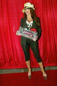 UNIVERSAL CITY - DEC. 4: Taylor Wane arrives at publicist Mike Arnoldi's birthday celebration & Brit