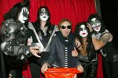 UNIVERSAL CITY - DEC. 4: G. Tom Mac & Kiss My Ass band arrive at publicist Mike Arnoldi's birthday celebration & Britticares Toy Drive for Children's Hospital on Dec. 4, 2012 in Universal City, CA.