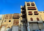 Old houses of Jeddah in Historical Old Jeddah