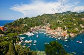 Summer View Of Portofino Town