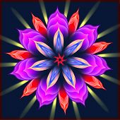 stock photo of sanskrit  - Mandala  - JPG