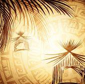Vintage Tropic Background