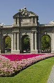 The Alcala Gate. Madrid. Spain.