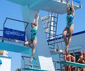 Synchronized Diving Team