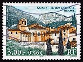 Postage Stamp France 2000 Saint Guilhem Le Desert, Herault