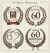 Anniversary Laurel Wreath, 60 Years