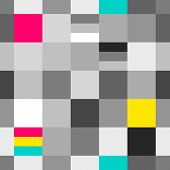 stock photo of grayscale  - CMYK and grayscale printing colors seamless pattern - JPG