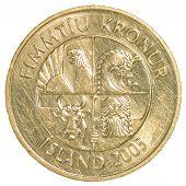 50 Icelandic Krona Coin
