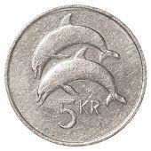 5 Icelandic Krona Coin
