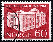 Postage Stamp Norway 1966 Bank Of Norway