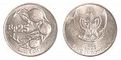 25 Indonesian Rupiah Coin