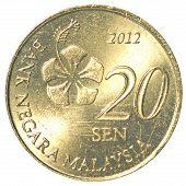 20 Malaysian Sen Coin