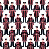 Beefeater Soldier - Yeoman Warder -  London Symbol