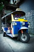 image of tricycle  - The motor - JPG