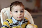 Portrait Of Thinking Child