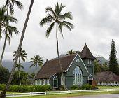 Waioli Huiia Mission Church In Hanalei Kauai