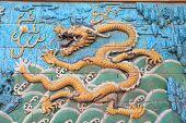 Постер, плакат: vivid oriental dragon