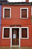 Italy, Venice. Street on the island of Burano