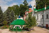 Monastery in Pskov region