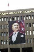 Ataturk Portrait, Ankara, Turkey